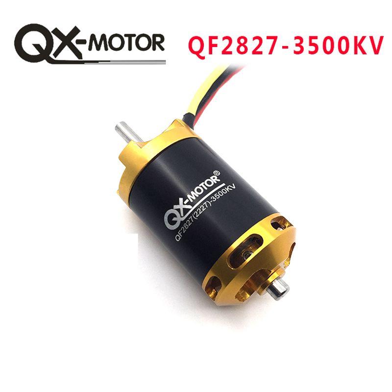 QX-MOTOR tout nouveau moteur Brushless QC2827 3500KV pour RC bateaux de course modèle bricolage bateaux pièces de moteur