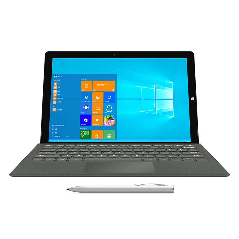 Teclast X5 Pro 2 in 1 Tablet PC 12,2 zoll Windows 10 IPS Kapazitiven Bildschirm Intel Kaby See Core M3-7Y30 Quad Core 1,0 GHz 8 GB RA
