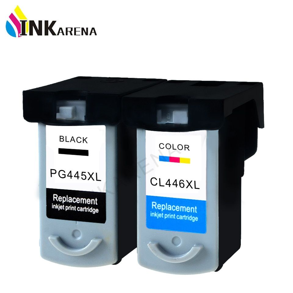 PG-445XL PG445 CL-446 XL Ink Cartridge for Canon pg 445 cl 446 Compatible for Canon PIXMA MX494 MG 2440 2540 2940 MX494 IP2840