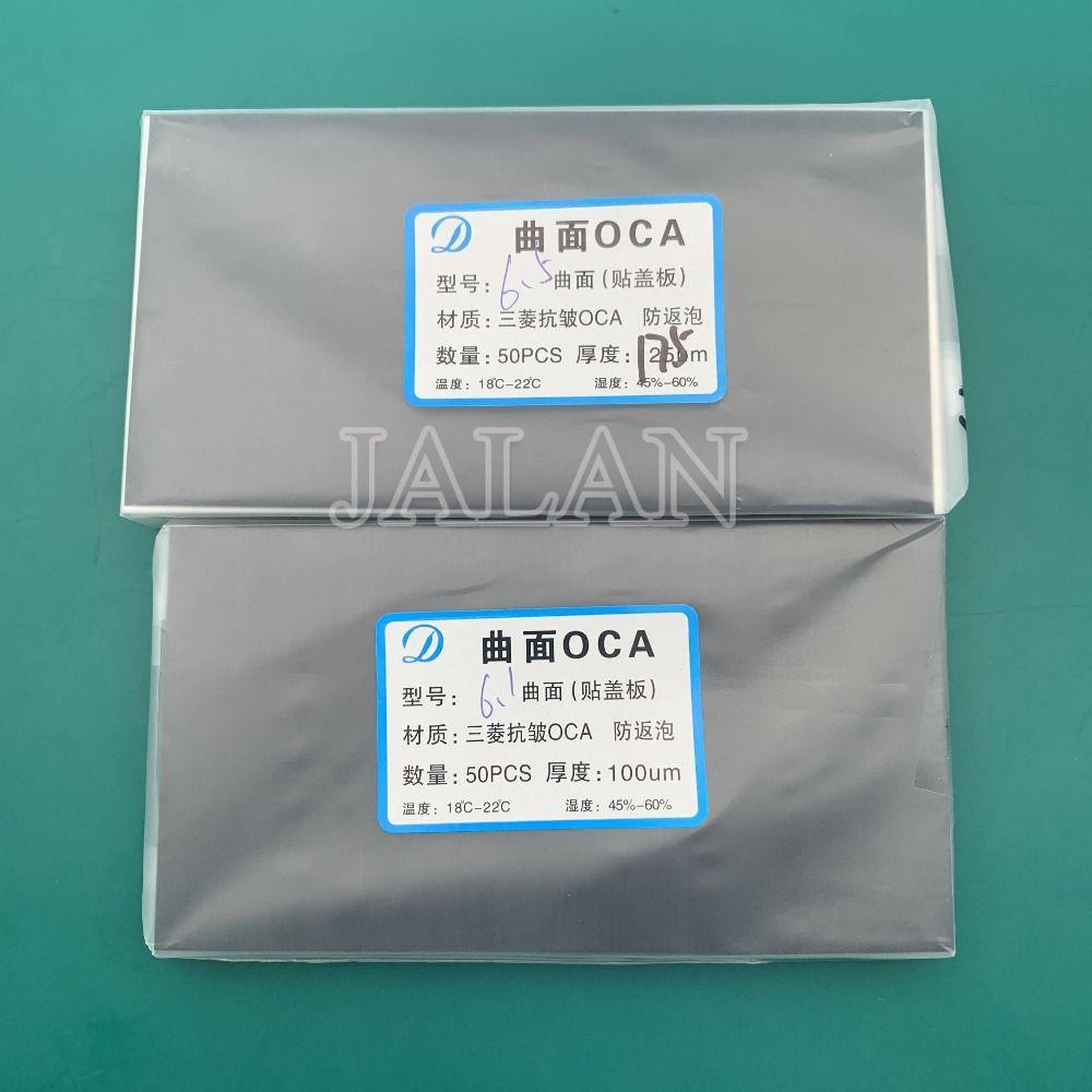 Neue OCA adhesive aufkleber für xr/xs max 100um 175um lcd display screen front glas laminierung für Mitsubishi oca film