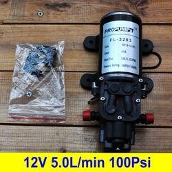 100Psi Tekanan tinggi 12 V DC Diafragma Diri Priming/Membran Pompa Air, tekanan Saklar Otomatis, termal Dilindungi
