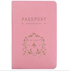 Nouvelle Couverture Voyage Couverture Du Passeport Carte Cas Femmes Hommes Voyage Voyage de Titulaire de Carte de Crédit ID & Document Détenteur D'un Passeport