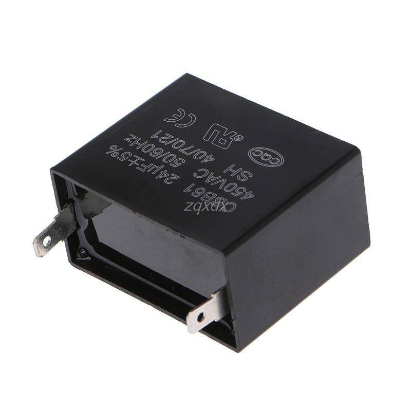 OOTDTY Kondensator 24 uf 24MFD 450 v AC CBB61 Passt 400/350/300/250VAC UL/RU aufgeführt Marke Z09 Drop schiff