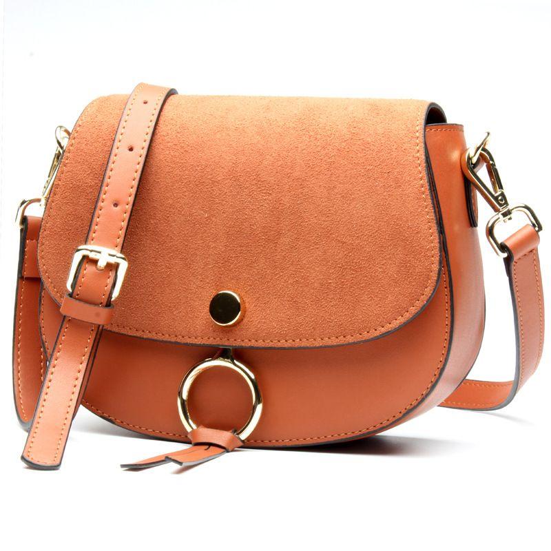 2017 marke Designer Mini Frauen Tasche Hohe Qualität Aus Echtem Leder Schulter Taschen Frühling Kleine Casual Handtasche Braun Blau Farbe