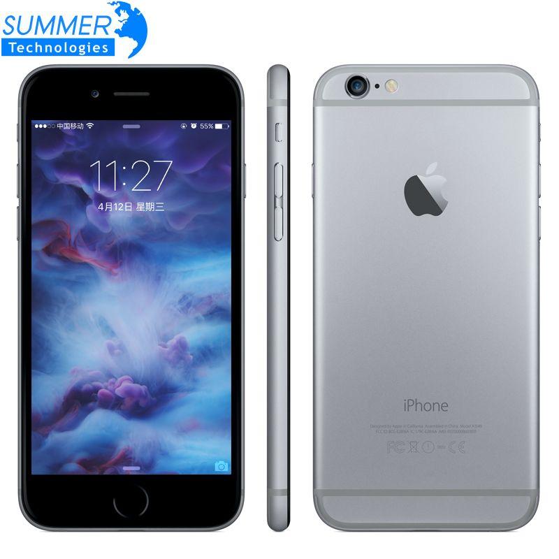 Original <font><b>Apple</b></font> iPhone 6s/6s Plus Mobile Phone Dual Core 12MP 2G RAM 16/64/128G ROM 4G LTE 3D touch fingerprint Cell Phones