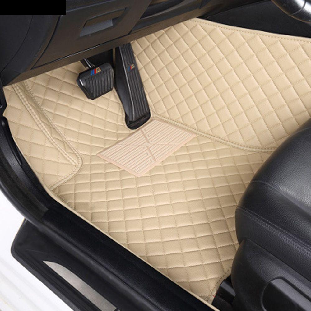 Auto fußmatten spezielle für Mercedes Benz S klasse W221 W222 S400 S500 S600 L alle wetter teppich auto- styling teppiche liner