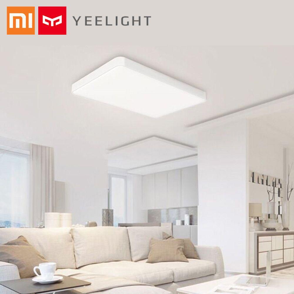 Original Xiaomi Yeelight Ceiling Lamp Pro LED Light Ra95 support APP Control Google Voice Alexa Control for Living Room