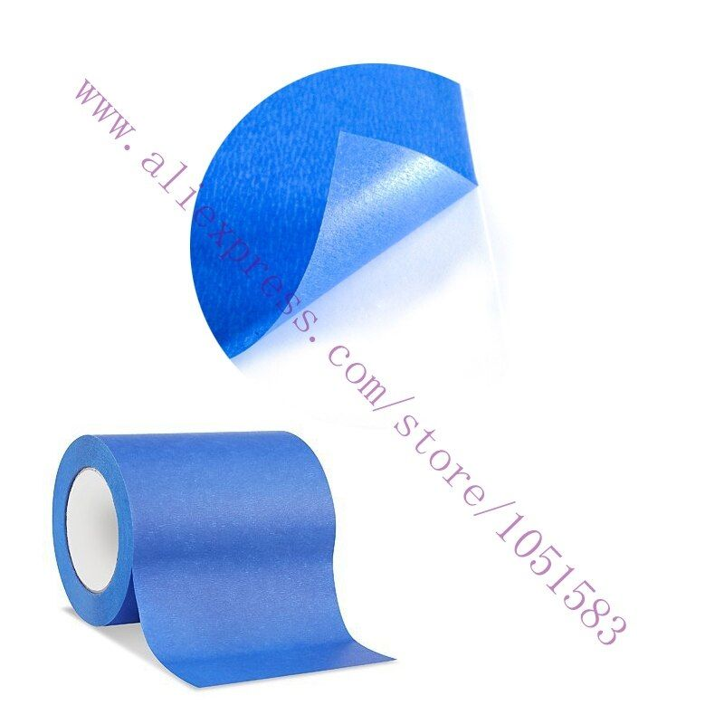 160MM X 30M Blue Painters Tape/ 3D Printer Heat Tape Resistant High Temperature Polyimide Adhesive Tape ,MakerBot Replicator2