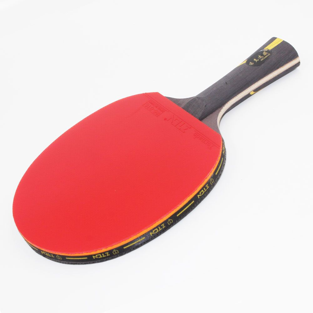 ZTON Table tennis racket Double pimples-in rubber Ping Pong Racket <font><b>fast</b></font> attack and loops or chop type player