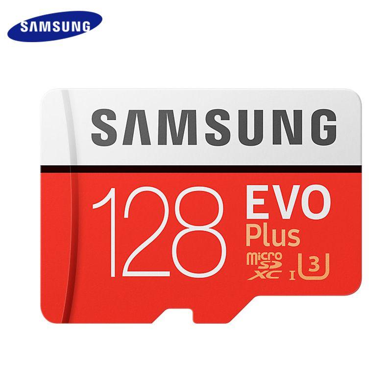 SAMSUNG Flash Karte 128 GB TF Karte 32 GB Speicher Karte 256 GB Micro SD Karte Class Rot Max 80 MB/S Uitra C10 EVO Plus U1 SDXC Karte
