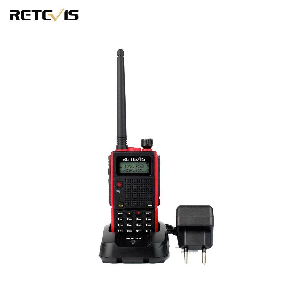 Durable Walkie Talkie Retevis RT5 Dual Band VHF/UHF Handsfree Mobile Amateur Radio Portable Ham Two Way Radio Transceiver