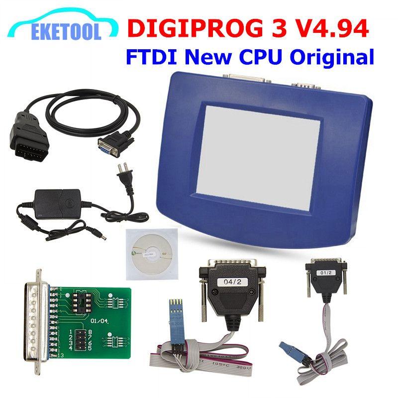 Digiprog 3 V4.94 OBD Version FT232 Stabile Qualität Digiprog3 OBD ST01 ST04 Ddometer Korrektur Digiprog iii OBD Kabel