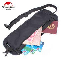 Naturehike wisata terlihat tas berjalan tipis saku tas ponsel dompet kartu ID tahan pembongkaran Deluxe renang