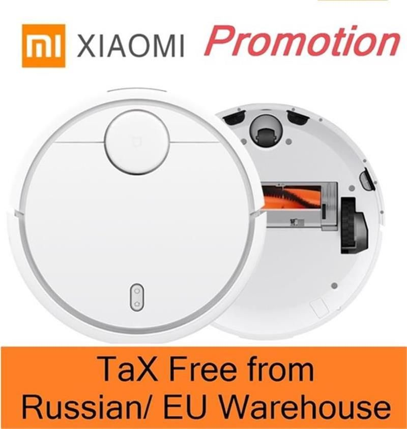 XIAOMI Robotic Vacuum Cleaner MI Robot Smart Planned Type ASPIRADOR WIFI App Control Auto Charge LDS Scan Mapping