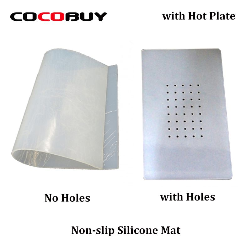 Novecel LCD Separator Non-slip Rubber Mat Silicone Pat with Holes Specialized Mat for Hot Plate Separator Machine