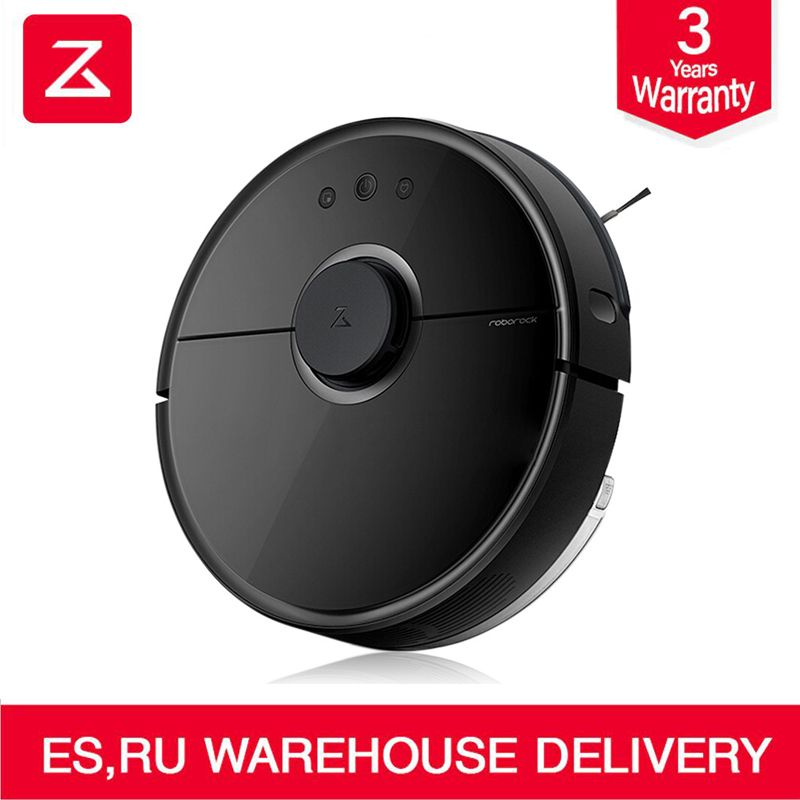 2018 Newest Roborock S55 Robot Vacuum Cleaner 2 Home Dust Sterilize APP Control Smart Planned Automatic Sweeping & Wet Mopping
