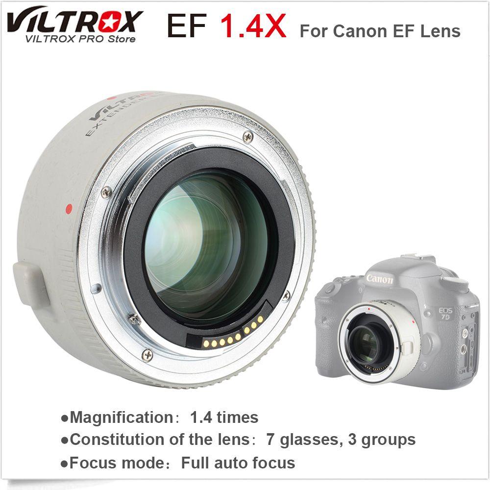 VILTROX 1.4X Teleplus Auto Focus Teleconverter Extender Telephoto Converter for Canon EOS & EF lens 70-200mm 5D3 5D2 700D 70D