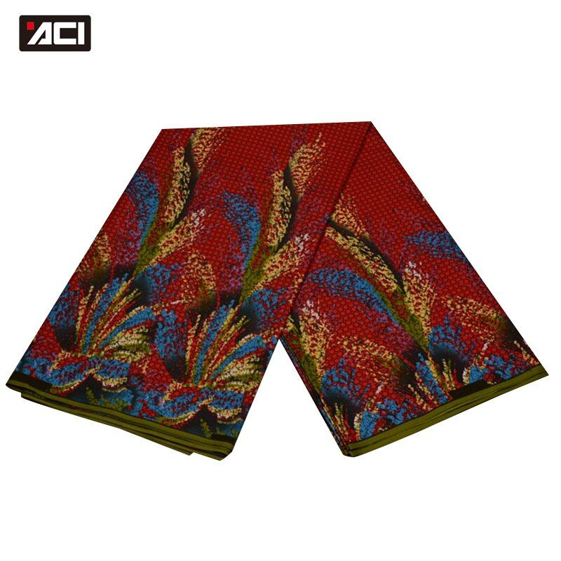 ACI Shaoxing Wholesale Daviva Fabrics 6 Yards/Piece,Ankara African Wax Print Fabric Hot Nigeria Wax African Daviva Fabrics