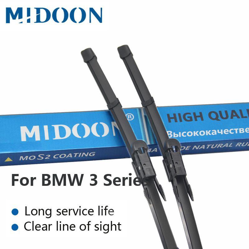 MIDOON Wiper Blades for BMW 3 Series E36 E46 E90 E91 E92 E93 F30 F31 F34 316i 318i 320i 323i 325i 328i 330i 335i 318d 320d 330d
