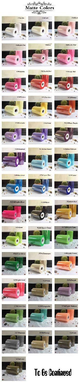 40 couleurs disponibles Tutu Tulle tissu bobine Nylon rouleau 100 mètres pour bricolage robe tutu douce