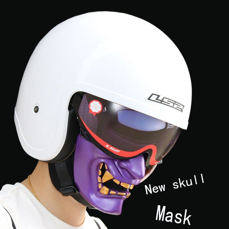 2017 new Halloween Motorcycle Halley helmet skull mask Personality mask Than Iron Man Predator shark mask high grade