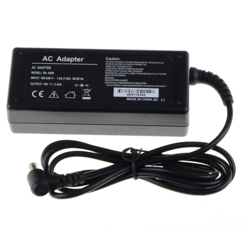 Notebook Computer Replacements Laptop Adapter 19V 3.42A 65W AC Fit For Acer Power Supply Adapter Charger Replacements