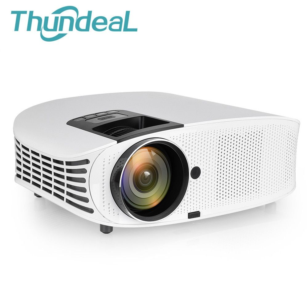 ThundeaL YG600 YG600A HD Projector Wired Sync Display Video HDMI Full HD TV Home Theater Multi Screen 3D LED Projector Beamer