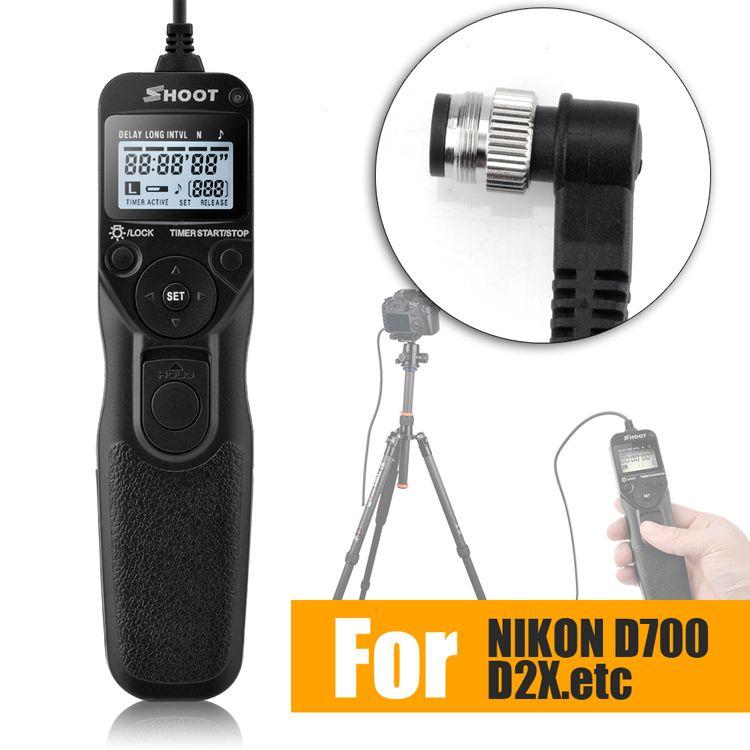 Timer Fernauslöser Steuerungsschnur Kabel für NIKON D2HS D2H D1X D1H D1D800 D800E D810 D700 D300S D300 D200 D100 F5 F100