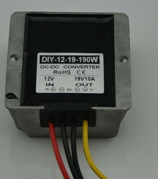 12V(9V-18V) Step Up To 19V 10A 190W DC DC Converter Boost Power Module Car Power Supply Adapter Regulator Waterproof