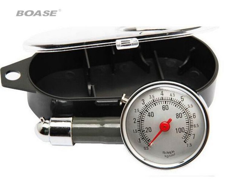 Automobile tyre pressure gauge, tire pressure table can be deflated tire pressure meter multifunctional tire pressure gauge