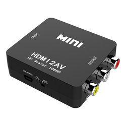 Amkle HDMI a AV/RCA cvbs adaptador 1080 p Video Converter HDMI2AV convertidor del adaptador soporte NTSC PAL salida HDMI a Av adaptador