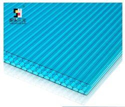 100 кв. метров пакет, УФ защищенный многослойный лист из поликарбоната, сотовый профиль, 2,1x3 м/panelx16, алюминиевые соединения включены