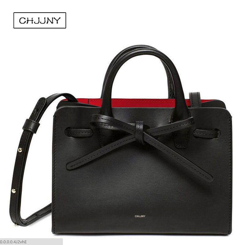 Mansur Gavriel famous designer sun bag genuine real leather for women vintage handbags drawstring opening original brand luxury