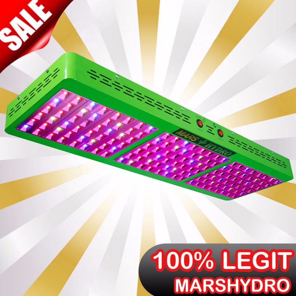 Mars Hydro Reflecor720W LED Grow Light Full Spectrum Switchable Growth / Bloom for Hydroponic Grow Tents