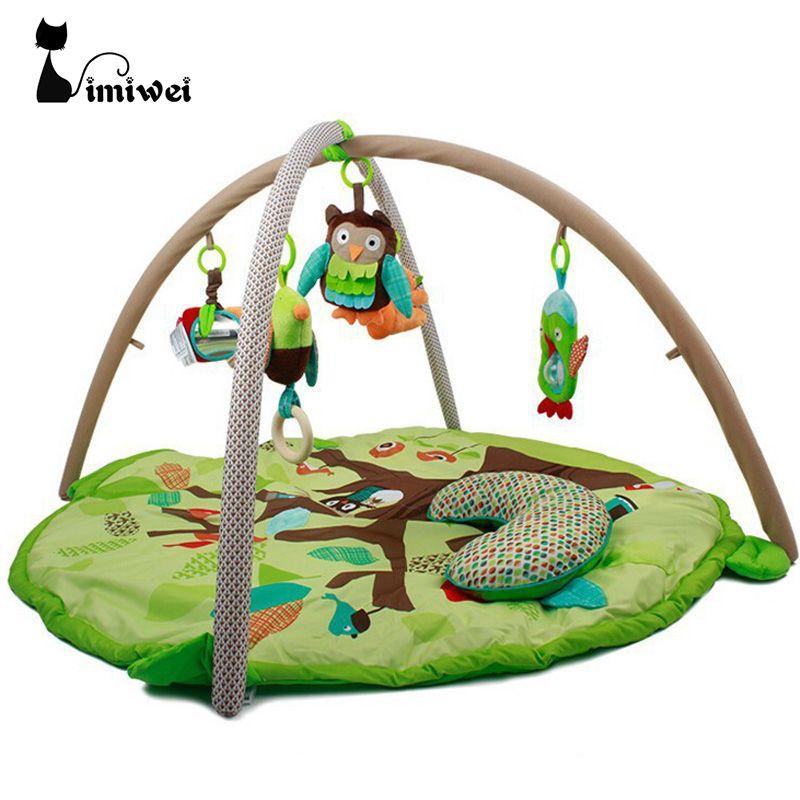 Kids Rug 90*55cm Baby Play Mat Soft Musical Mat Activity Gym Play Gym Kids Toys Soft Baby Toys Play Mat Baby Gym Developing Rug