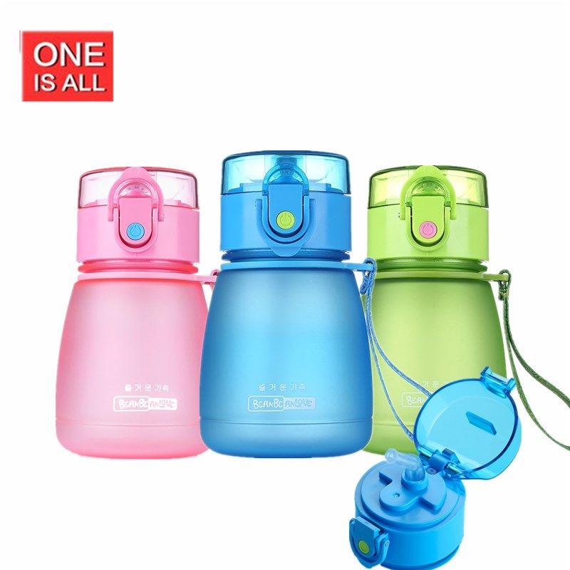 GuangYi 300 ml SANS BPA Bouteille D'eau En Plastique Incassable Mon Eau Bouteilles Verres Portable Sport Vélo Durable Bouteille