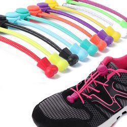 11 11 perezoso Cordones para zapatos 2017 sin cordones empate bloqueo de los cordones elásticos zapatillas shoestrings Correr/jogging/triatlón/ sport fitness