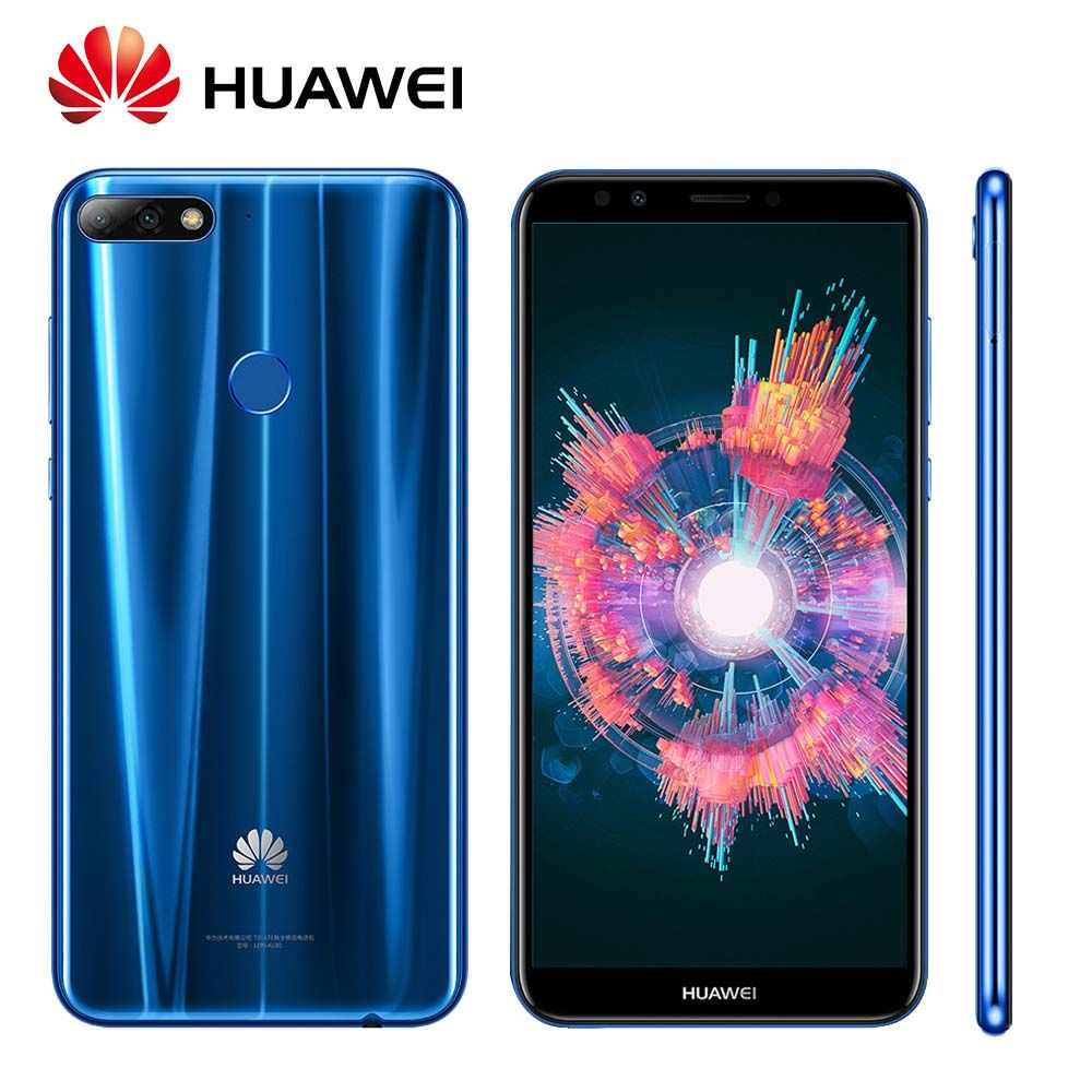 Global Rom Huawei Enjoy 8 Y7 Prime 2018 Fingerprint 3000mAh Android 8.0 Octa Core Dual Rear Cameras 4G LTE Mobile Phone
