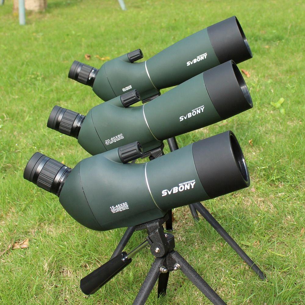 Spotting Scope SV28 Telescope <font><b>Zoom</b></font> 50/60/70mm Waterproof Birdwatch Hunting Monocular & Universal Phone Adapter Mount SVbonyF9308