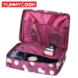 De organización de viajes belleza cosméticos maquillaje almacenamiento señora Linda bolsas bolso bolsa accesorios suministros productos del artículo