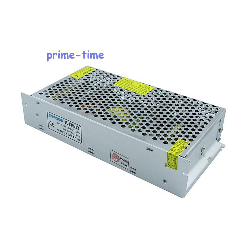 Универсальный 120 Вт 10A 12 В выключатель питания из светодиодов трансформатор для из светодиодов полосы света AC110-220V вход трансформаторы напря...