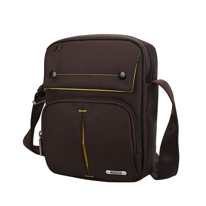 Sinpaid Для мужчин анти кражи сумка Водонепроницаемый Crossbody слинг messenger высокое качество Оксфорд Материал чёрный; коричневый и темно-синий