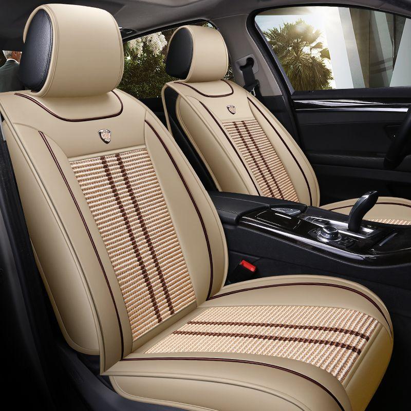 car seat cover auto seats covers vehicle chair leather case for Hyundai ix25 ix35 santa fe 2007 2008 2011 2013 santafe solaris