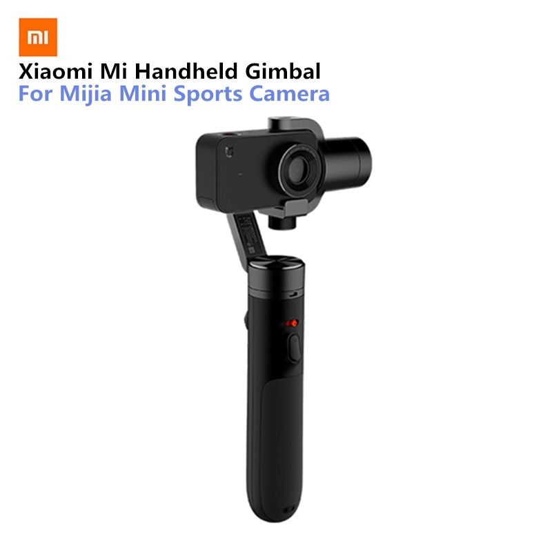 Xiaomi Mi Handheld Gimbal Action Camera 3 Axis Brushless Gimbals for Mijia Mini Sports Camera VS Feiyu Tech ZHI Yun