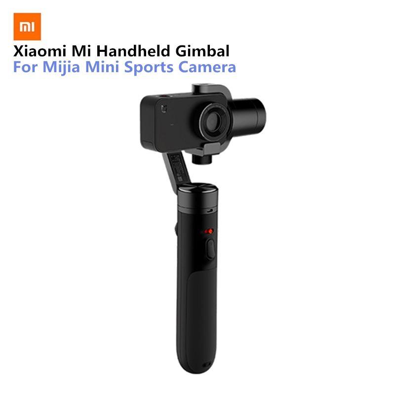 Xiaomi Mi Handheld Gimbal Action Camera 3 Axis Brushless Gimbals for Mijia Mini Sports Camera VS Feiyu Tech ZHI Yun
