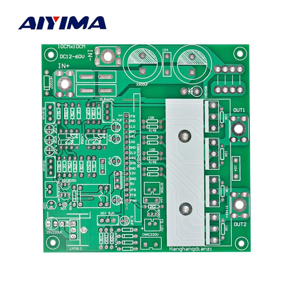 Aiyima Pure Sine Wave Inverter Empty Board Multi Function Pure Sine Wave Power Frequency Inverter Bare PCB Board For DIY