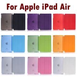 Pour Apple iPad Air de Couchage Wakup Ultral Mince En Cuir Smart Cover Case Pour iPad 5/Air 1