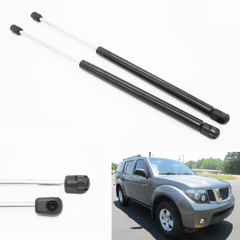 2pcs Auto Rear Hatch Liftgate Boot Gas Charged Struts Lift Support For 2005-2012 2013 Nissan Pathfinder Sport Utility 19.30 inch