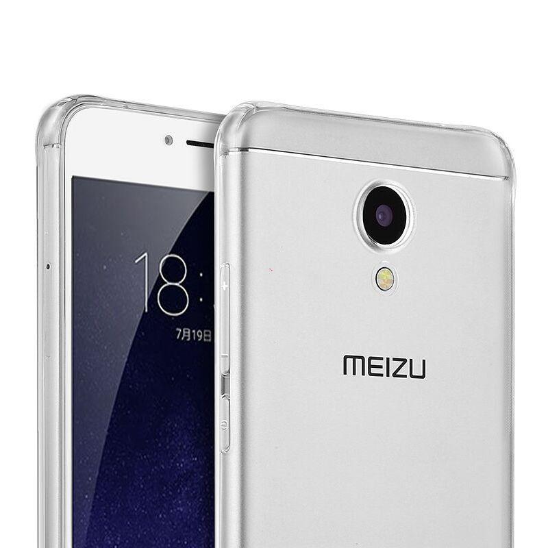Meizu MX6 cas de silicium meizu mx6 soft case retour prime 5.5 pouce meizu mx 6 cas couverture ultra-mince clair coque