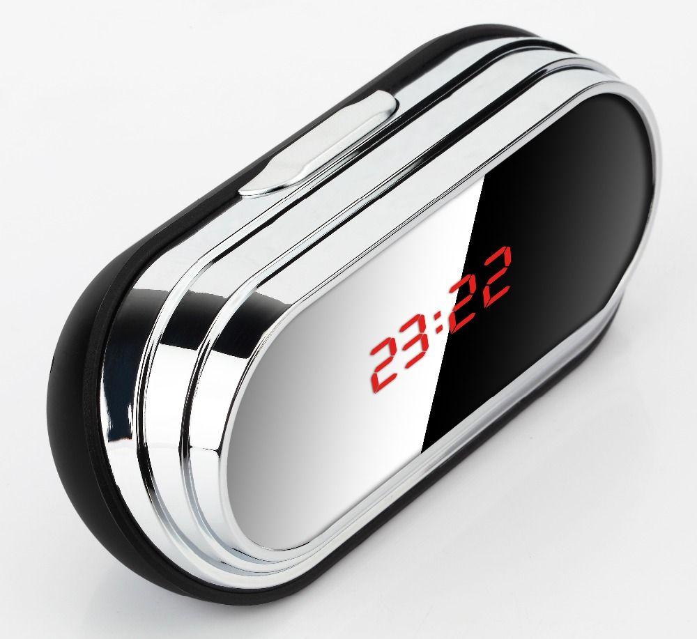 Mini Camera Home Electronic Clock Camera Wireless Remote Control HD 1080P Video Espia Nanny Candid